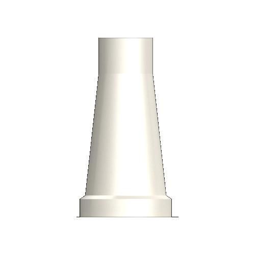 Solid Plastic Coping Single